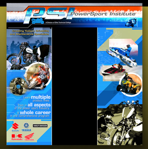 Power Sport Institute trade show display
