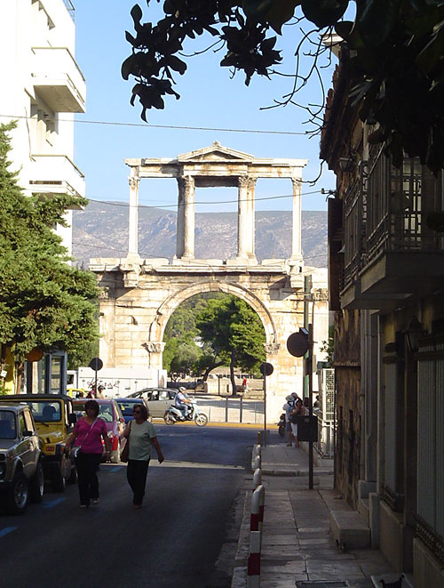 Archway to the Temple of Zeus