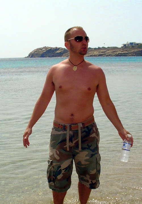 JT (Rick) Krohe. Paradise Beach, Greece 2006