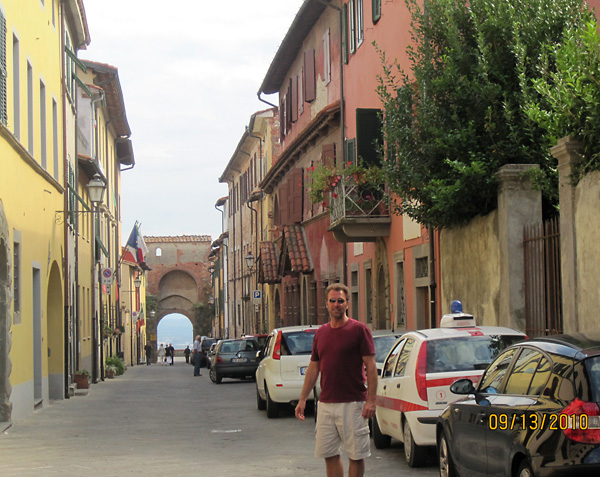 Barry Edwards in Italy 1