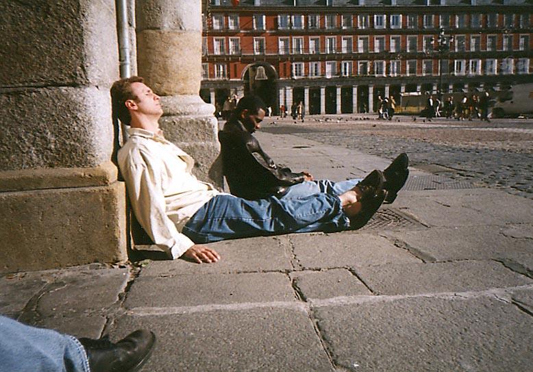 Barry Edwards, Plaza de Mayor. Nov 2002