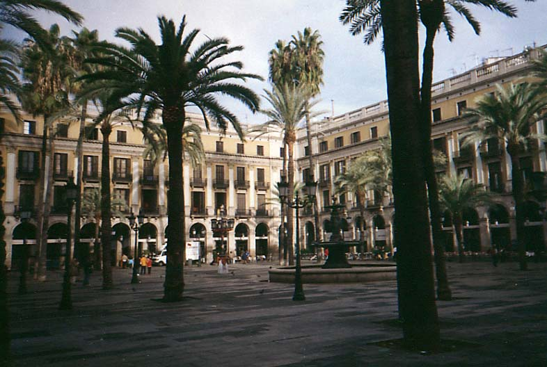 Place Rei, Barcelona, Spain