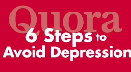 6 Steps to Avoid Depression