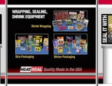 Trade show display – HeatSeal
