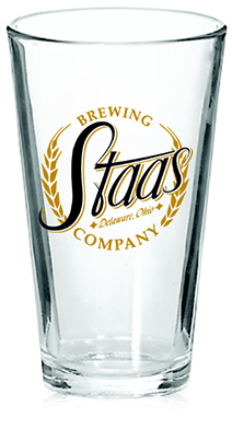 logo and branding, Staas Brewery