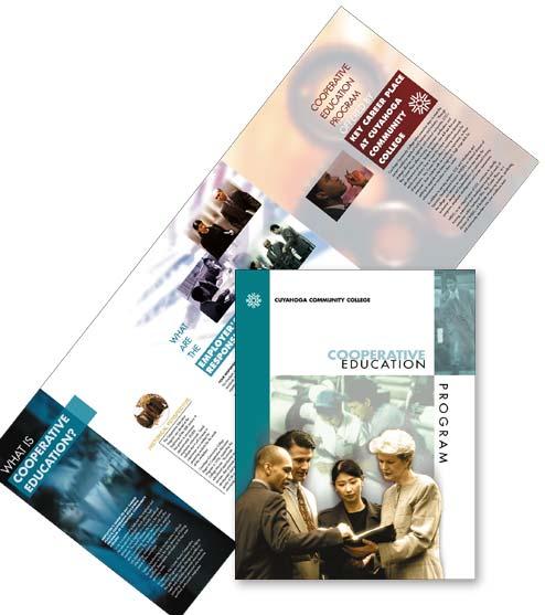 branding: folder for Tri-C campaign