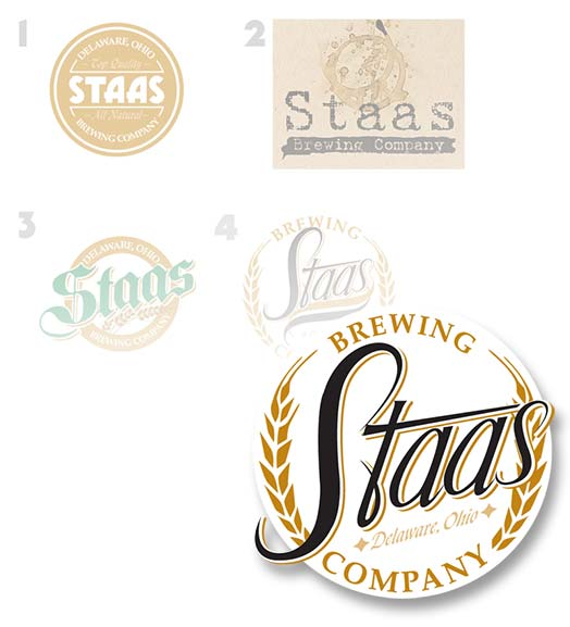 logo: Staas Brewery by Edwards Communications