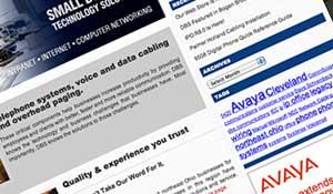 DBS Communications website
