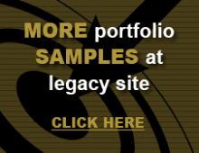More portfolio samples at legacy site