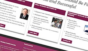 Barkett Consulting website