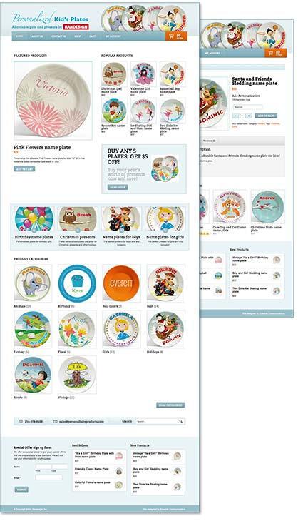 e-commerce website, designed & produced by barry edwards, edwards communications
