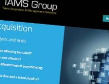 TAMS Group branding campaign and website