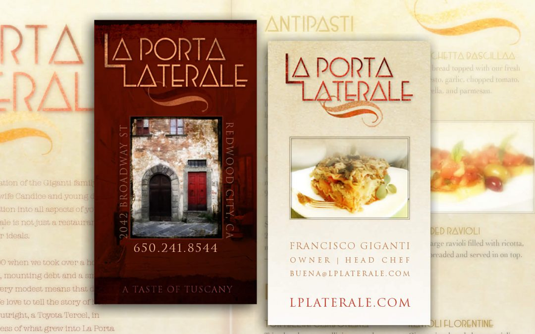 Branding: Restaurant Logo/Business Card