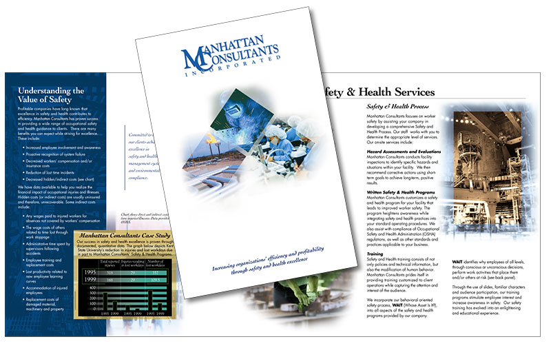 Corporate brochure: Manhattan Consultants, Inc.