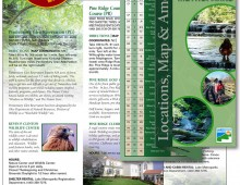 Award winning brochure: Lake Metroparks