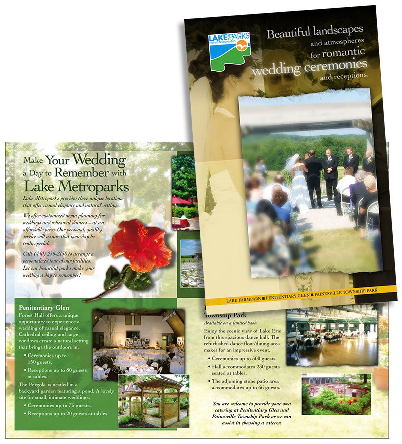 Brochure: Lake metroparks weddings