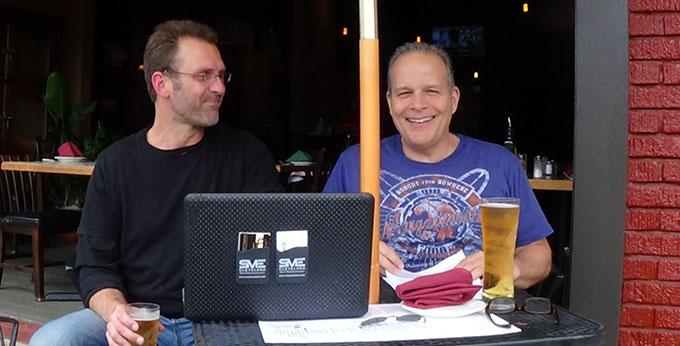 Barry Edwards, Mark Tennant, Edwards Communications