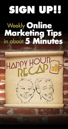 Edwards Communications Happy Hour Recap -video blog on web development and content marketing