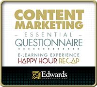 Content Marketing Essential Questionnaire