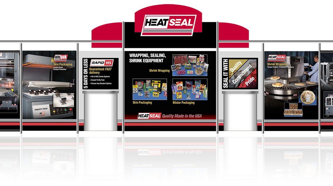Heat Seal trade show display
