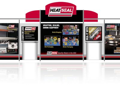 Heat Seal trade show display