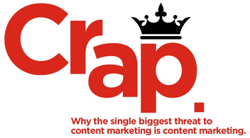 A Slice A Day #70 REWIND – CRAP: THE SINGLE BIGGEST THREAT TO B2B CONTENT MARKETING – (Doug Kessler)