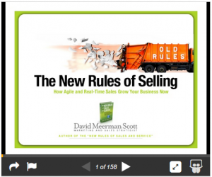 Slideshare - The New Rules of Selling