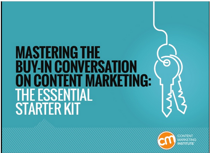Mastering the Buy In Coversation of Content Marketing