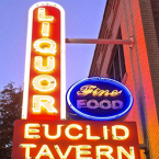 Happy Dog Euclid Tavern-sign