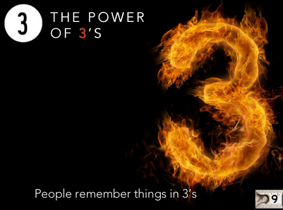 The Power of 3's