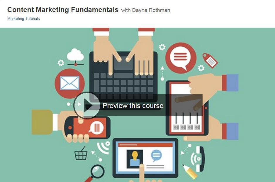 Content Marketing Fundamentals - Lynda.com