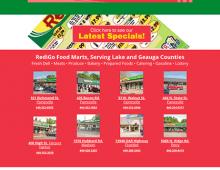 Web development: RediGo Food Marts