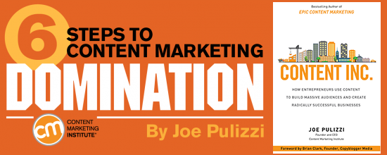A Slice A Day #146 – Six Steps to Content Marketing Domination (Joe Pulizzi) Pt1