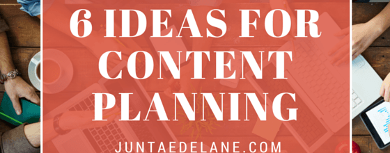 A Slice A Day #159 – 6 Ideas For Your Content Planning (Juntae DeLane)