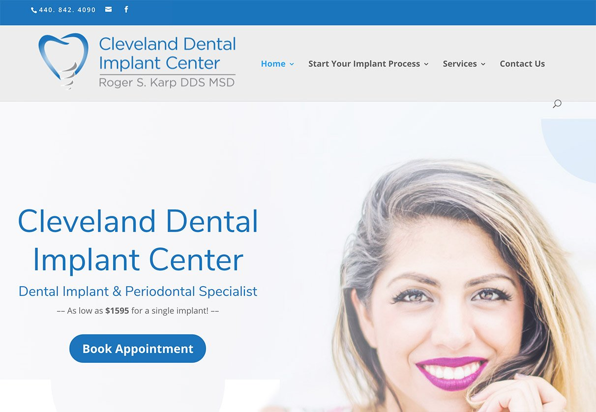 Cleveland dental periodontist SEO - worst to first