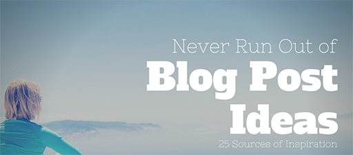 A Slice A Day #183 – Never Run Out of Blog Post Ideas Again: 25 Resources for Content Marketers (Kristi Hines)