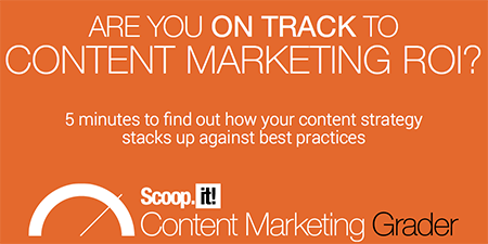 A Slice A Day #188 – On Track to Content Marketing ROI? Take the 5 Minute Test (Guillaume Decugis)
