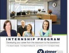 Zinner and Co. Intern Brochure