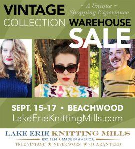 Event Advertising, EdwardsCom.net. Ad for Scene Magazine. Lake Erie Knitting Mills