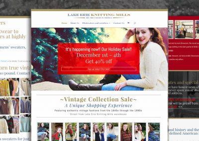 Brand development: Lake Erie Knitting Mills