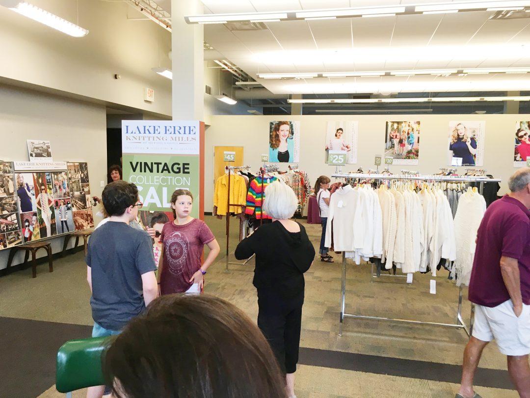 Branding, logo, tradeshow display, signage-Lake Erie Knitting Mills, Cleveland, OH