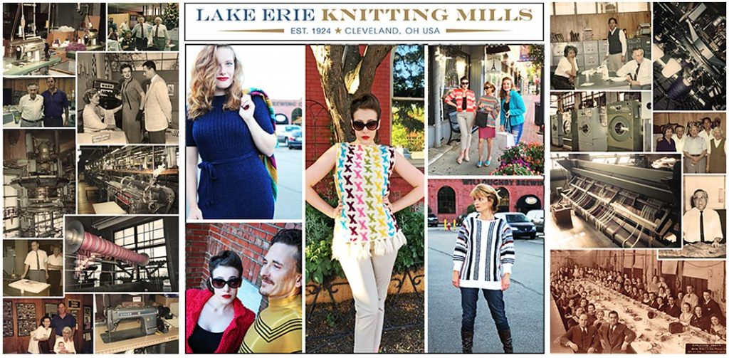 trade show display design • Lake Erie Knitting Mills