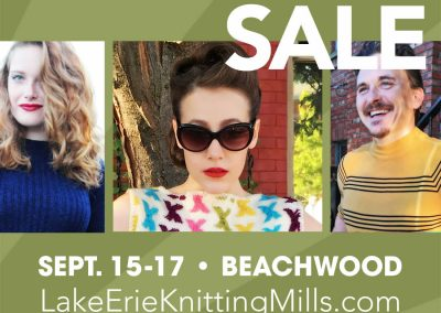 Event advertising: Lake Erie Knitting Mills