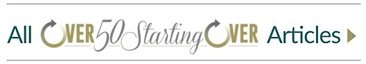 logo, Over 50 Starting Over | articles