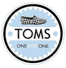 toms shoes. For purpose company