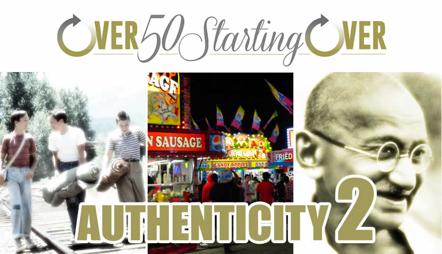 The need to be authentic for your brand part 2 | Barry Edwards, Over 50 Starting Over